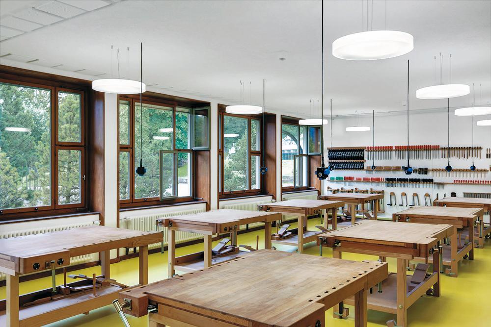 Schulhauserneuerungen in der stadt z rich detail inspiration - Architektonische hauser ...