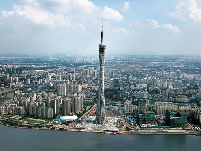 Report Canton Tower In Guangzhou Detail Inspiration