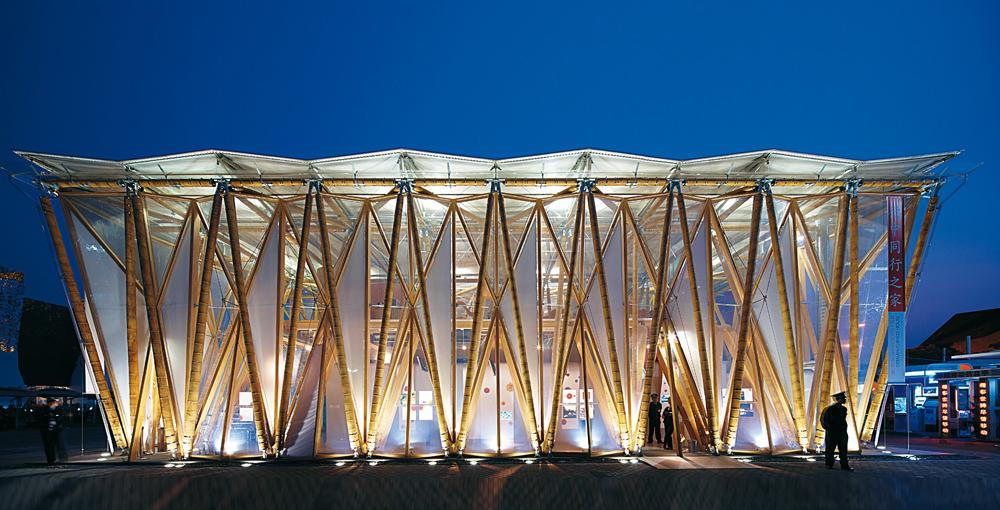 bamboo pavilion for the expo shanghai detail inspiration. Black Bedroom Furniture Sets. Home Design Ideas