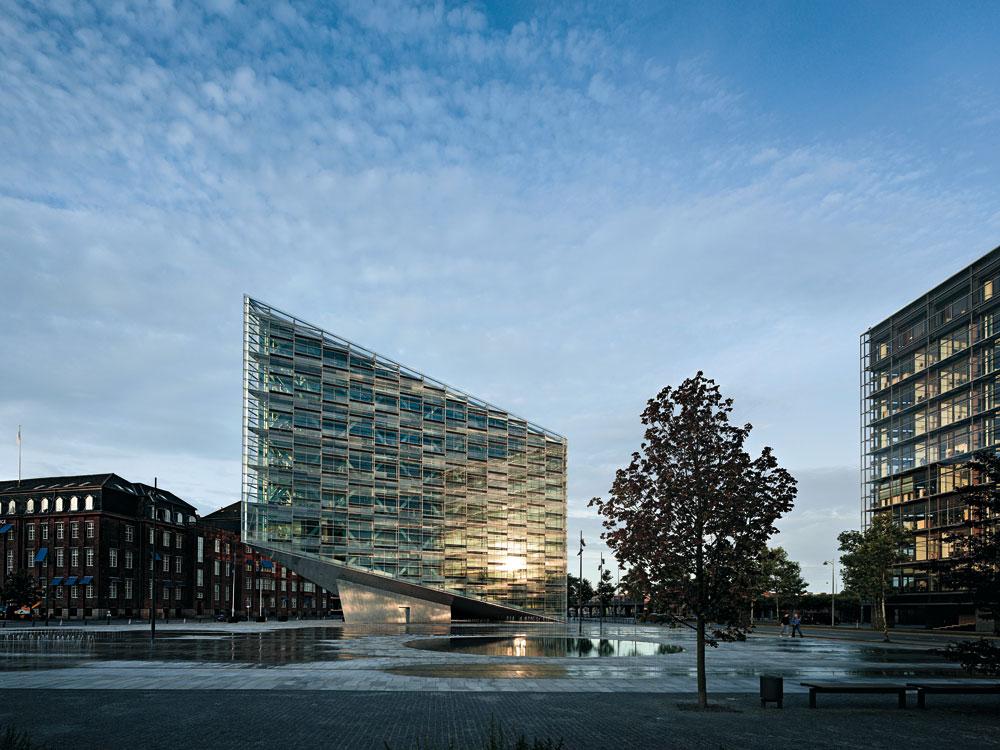Bank Building In Copenhagen Detail Inspiration