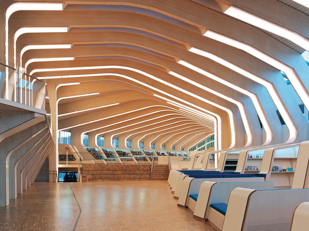 Library in vennesla