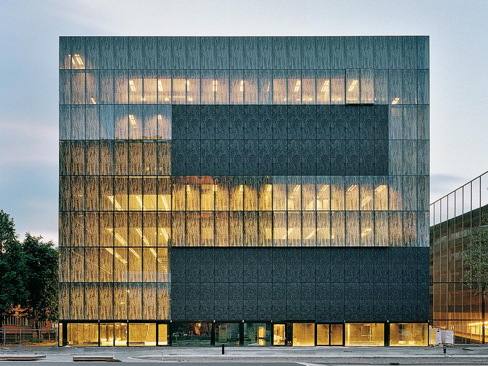 University Library In Utrecht Detail Inspiration