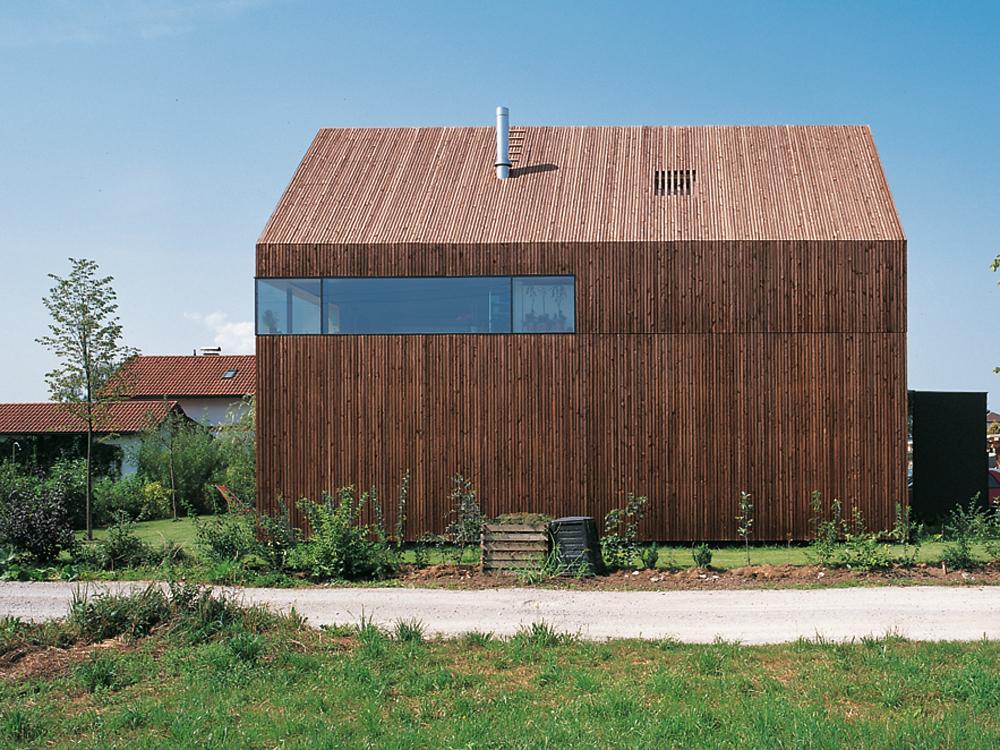 Holzfassade Detail house in seekirchen detail inspiration
