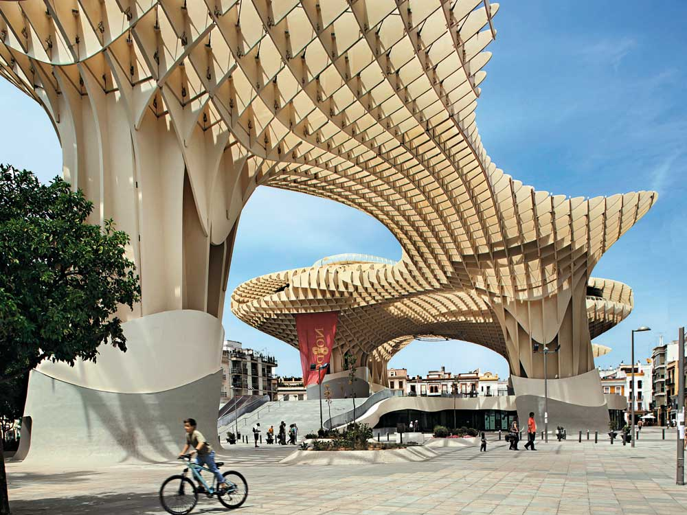 Technology Metropol Parasol A Stroll Above The Roofs Of