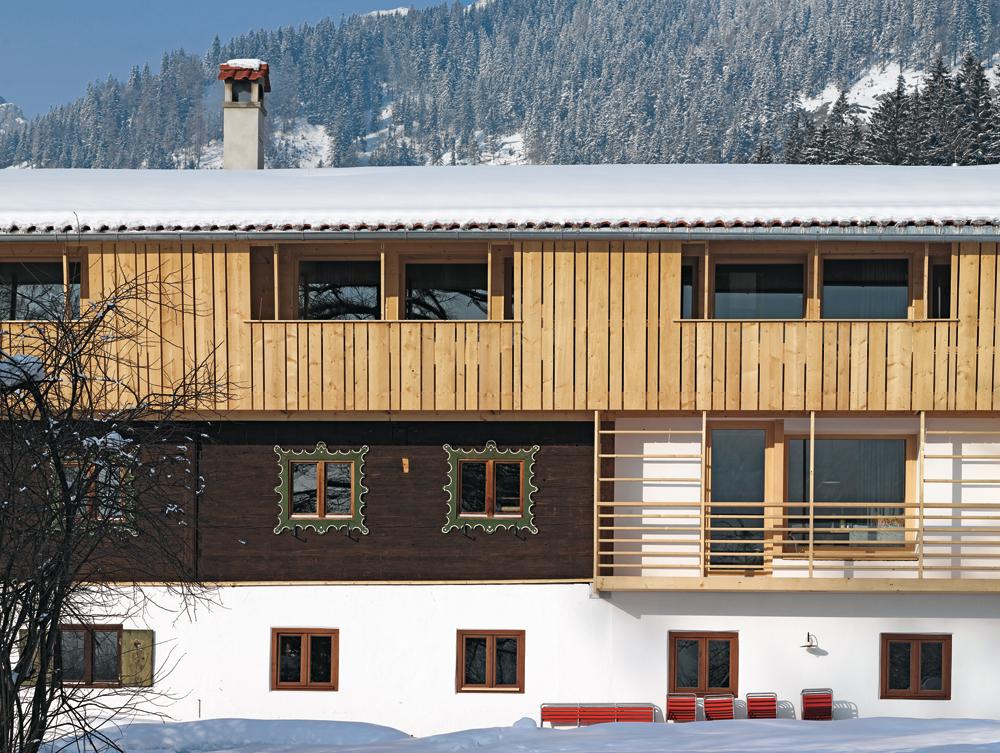 umbau und erweiterung hotel tannerhof in bayrischzell. Black Bedroom Furniture Sets. Home Design Ideas