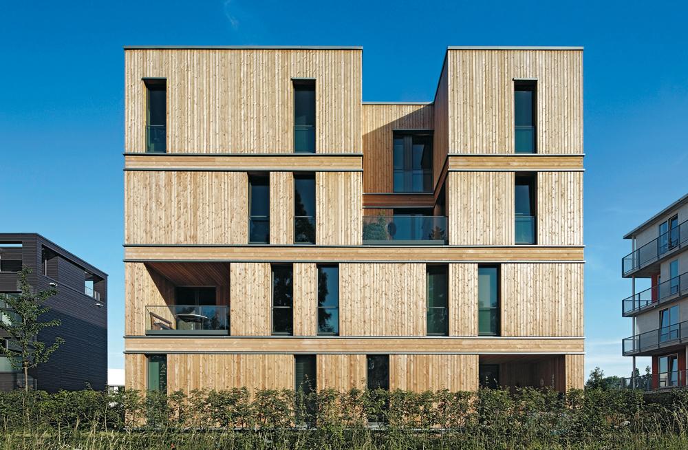 Wohnhaus der iba in hamburg detail inspiration for Wohnhaus grundriss