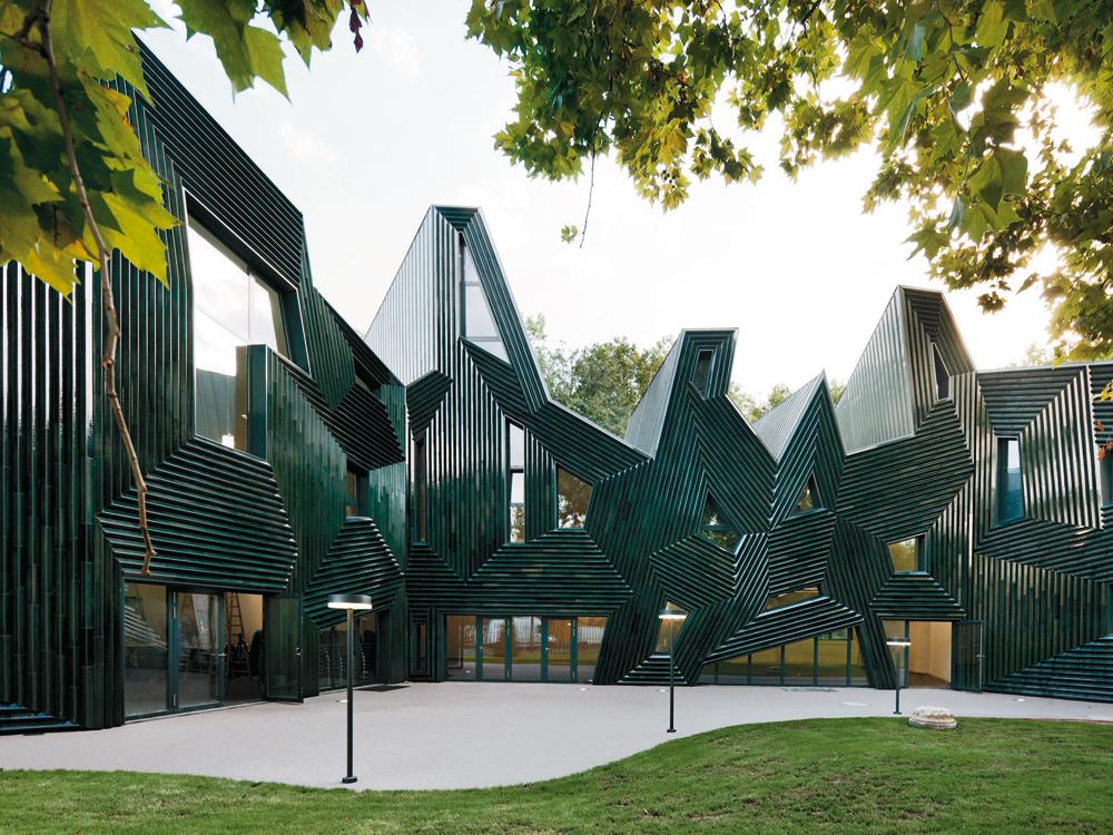 Architekten In Mainz community centre in mainz detail inspiration
