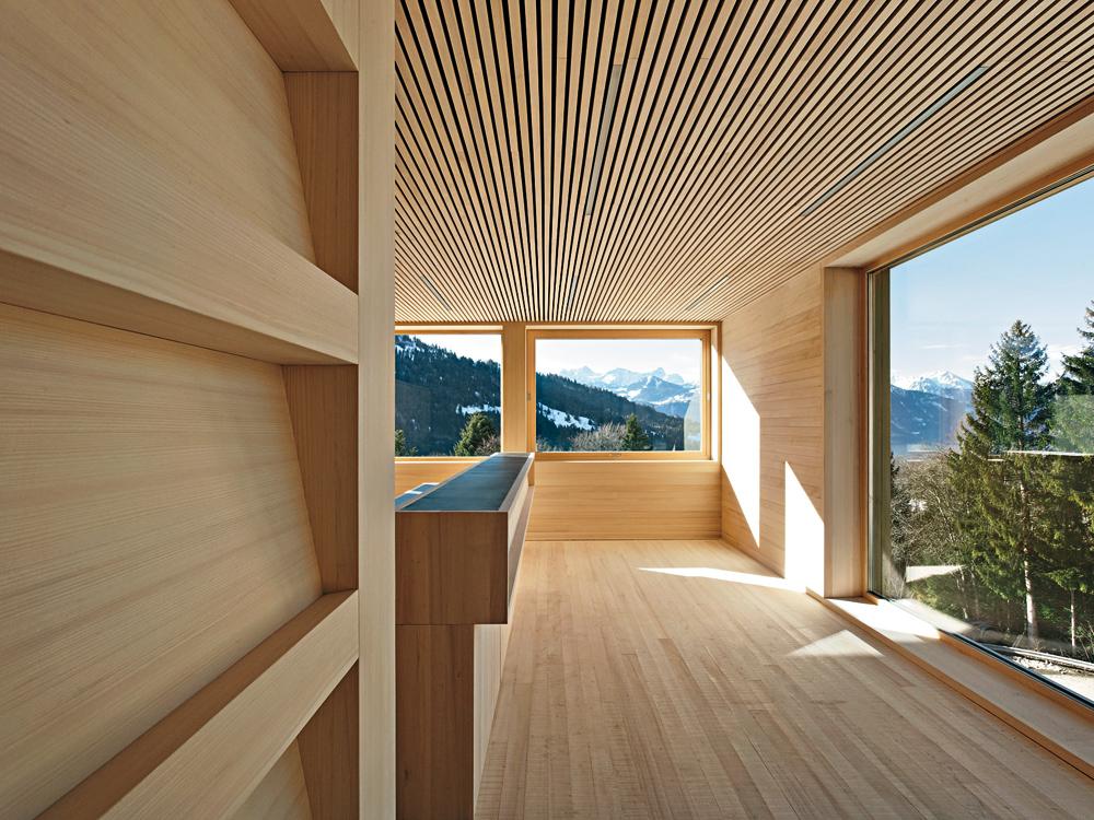 Holzbau detail  Dokumentation: Reiner Holzbau oder Mischbauweise? - DETAIL inspiration