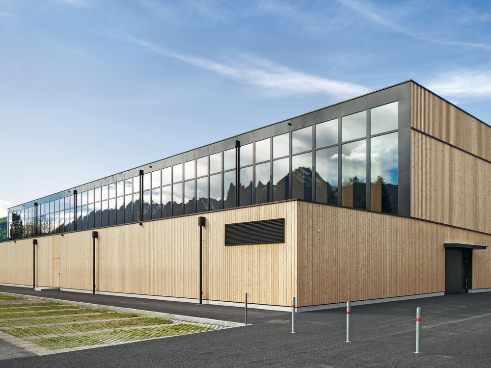 Sports Centre In Sargans Detail Inspiration