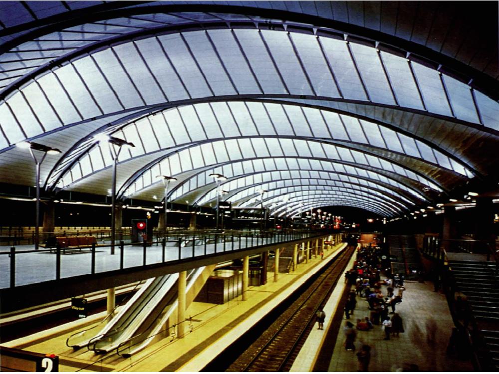 Olympic Park Railway Station Sydney