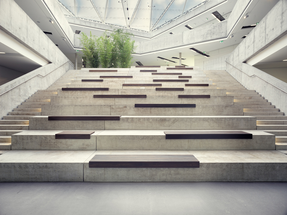 Treppen architektur detail  International School in Seeheim-Jugenheim - DETAIL inspiration