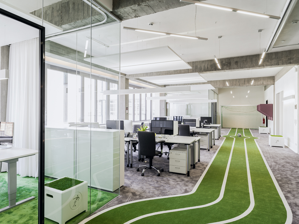 Start Up Office Onefootball In Berlin Detail Inspiration