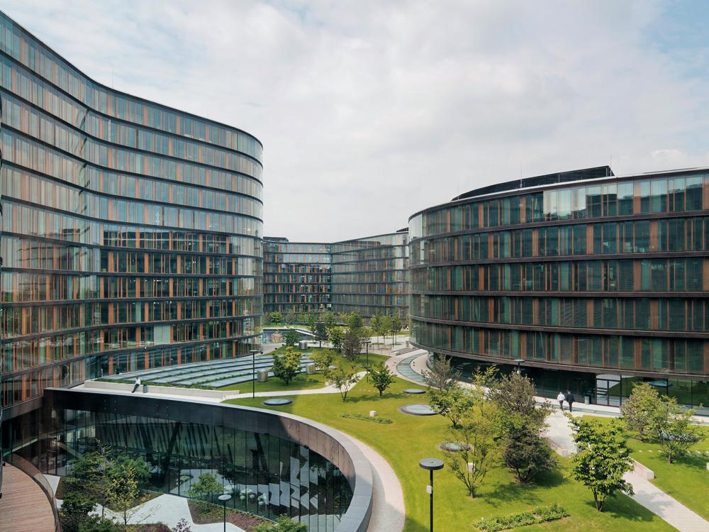 Process Erste Campus Headquarters In Vienna Detail Inspiration