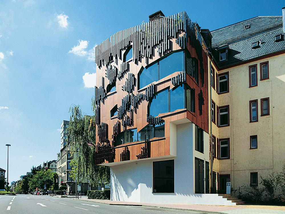 Magazin Minimum Impact House In Frankfurt Main Detail