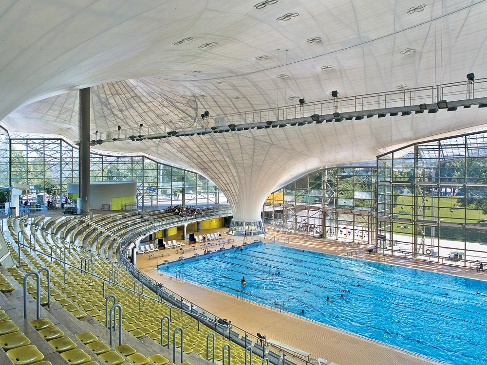 Technology Renewal Of The Suspended Ceiling At The Olympic