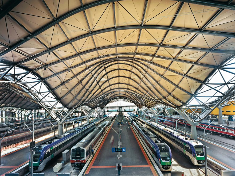 Southern Cross Station In Melbourne Detail Inspiration