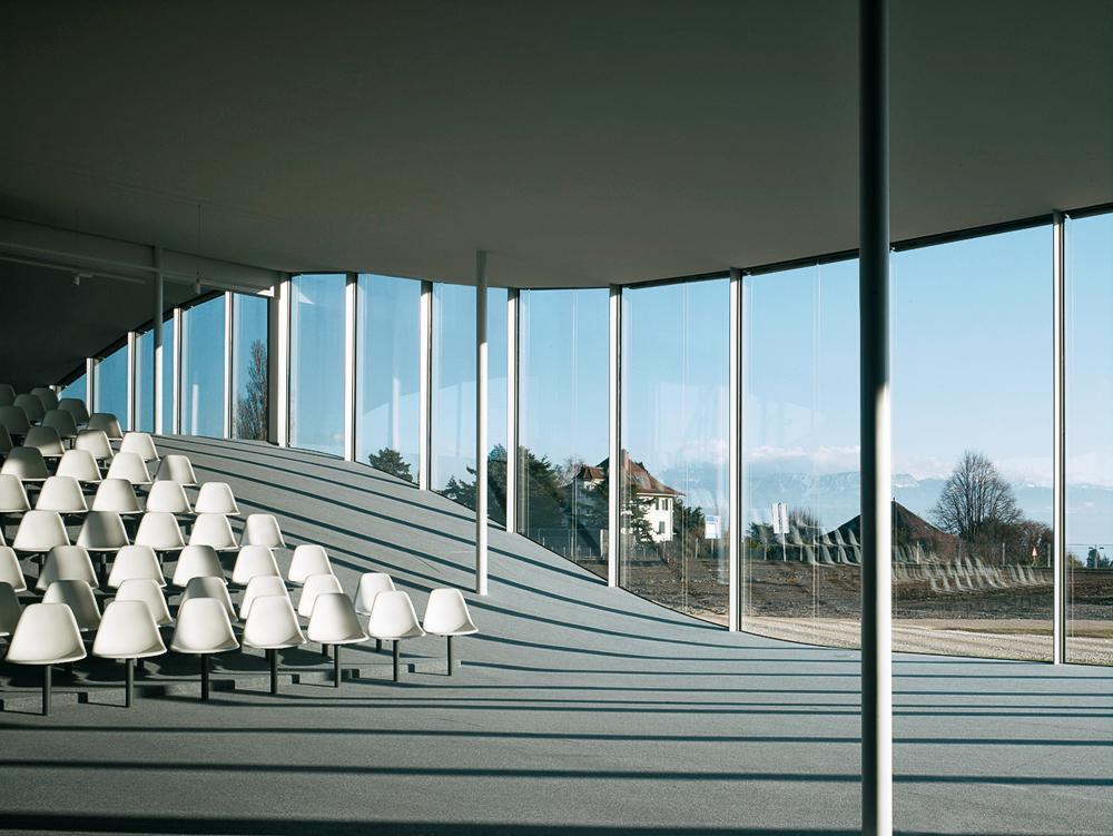 rolex learning center in lausanne detail inspiration