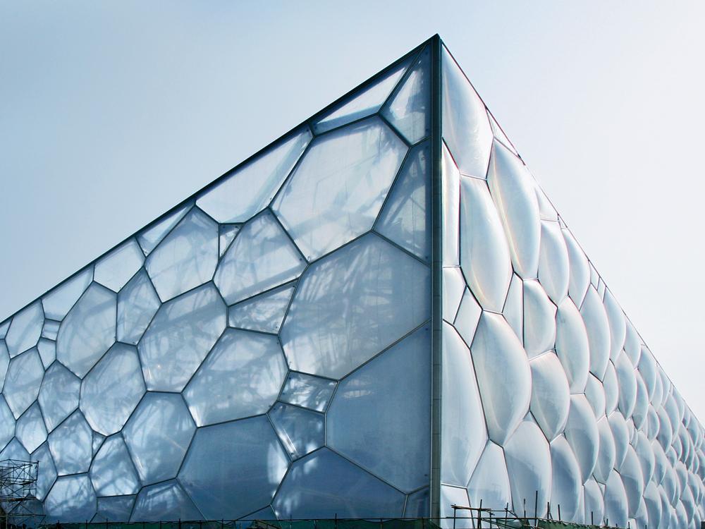 Watercube National Swimming Centre In Beijing