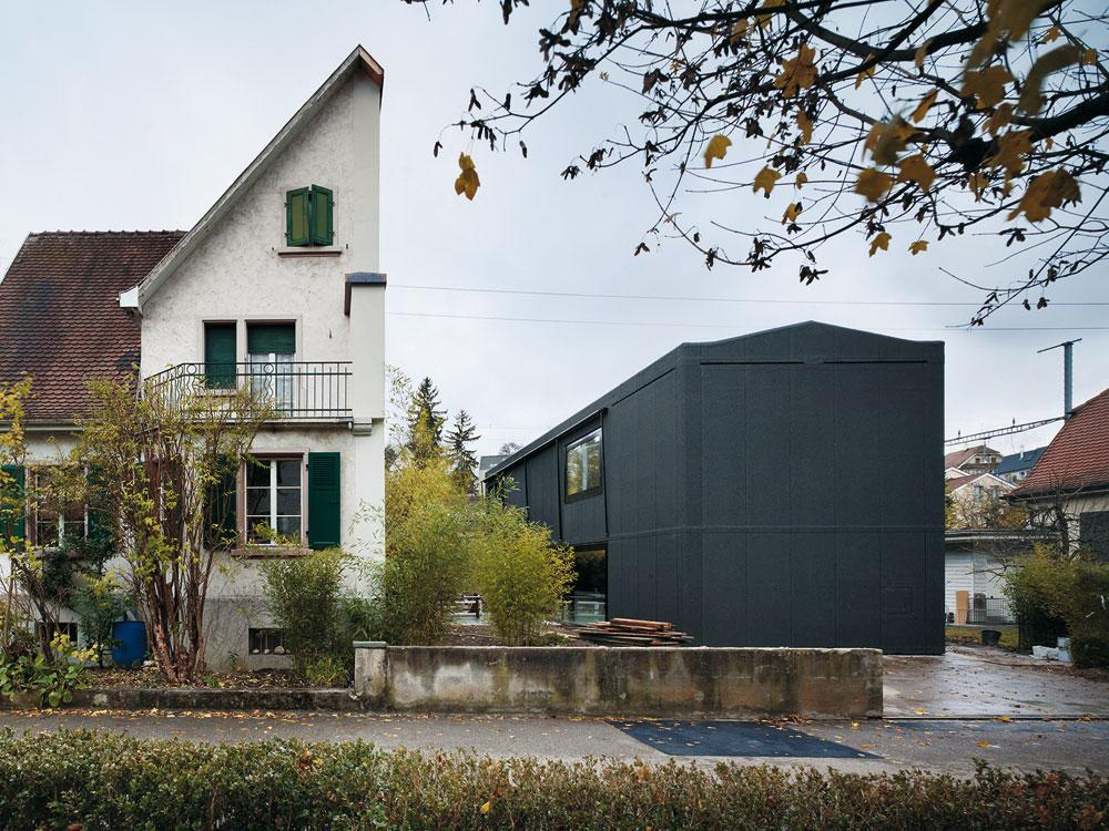 Wohnhaus In Munchenstein Detail Inspiration