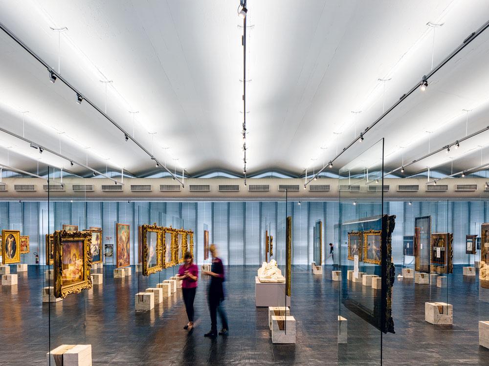 Exhibition Display Panels : Exhibition display panels in sao paulo s museu de arte detail