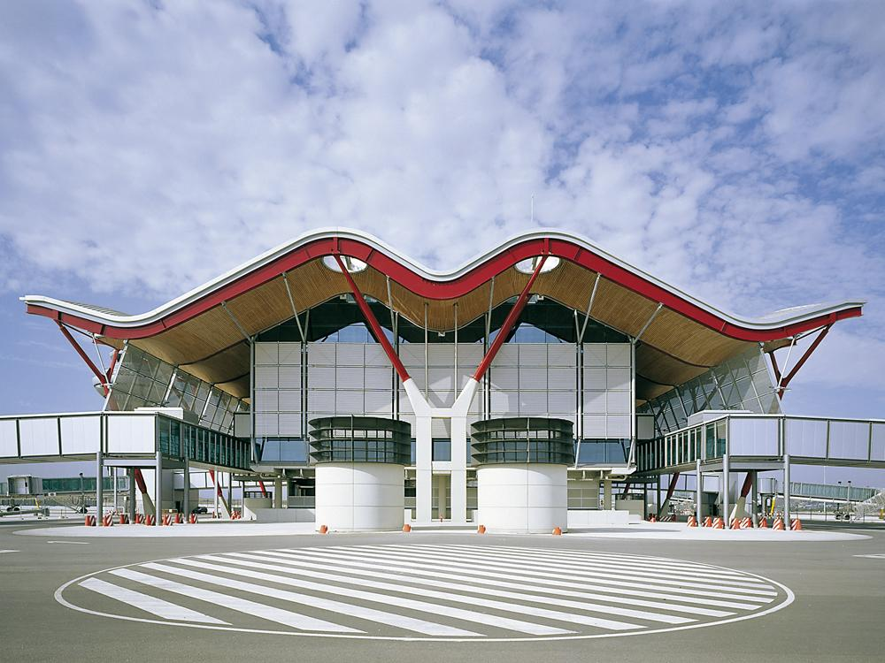 d4972a6f77aa Airport Terminal in Madrid - DETAIL inspiration