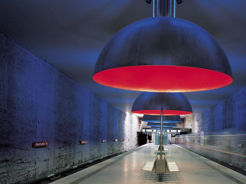 U-Bahnhof »Westfriedhof« in München - DETAIL inspiration