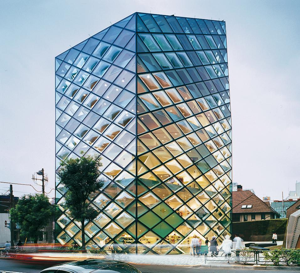 Prada Aoyama Epicentre In Tokyo Detail Inspiration