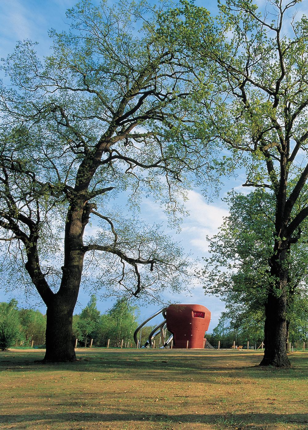 Report Plastic Concrete Sculptures In The Waldpark In Potsdam