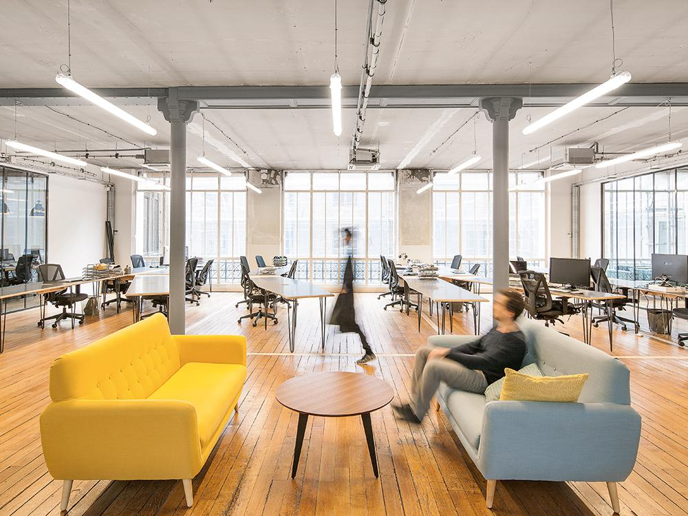 Open Plan Office In Paris Detail Inspiration